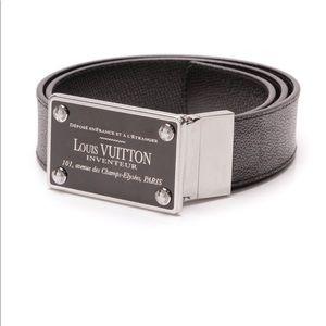 Louis Vuitton Damier Graphite Reversible Belt